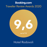 Booking.com 9,7/10 Guest Review Award